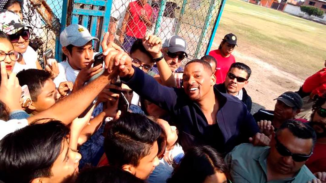 Will Simith en Oacalco en el estado de Morelos