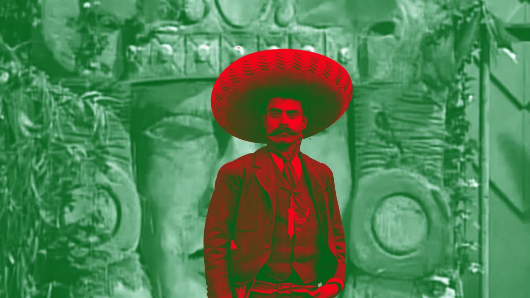 Zapata en Leyendas del Templo Escondido