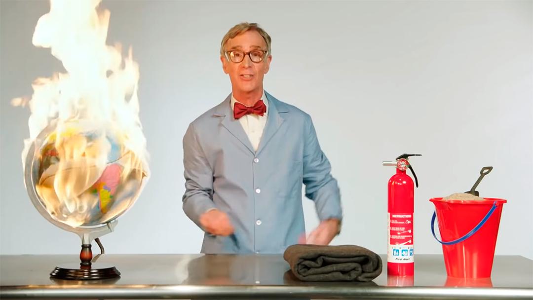 Bill Nye nos explica cómo jodimos el planeta
