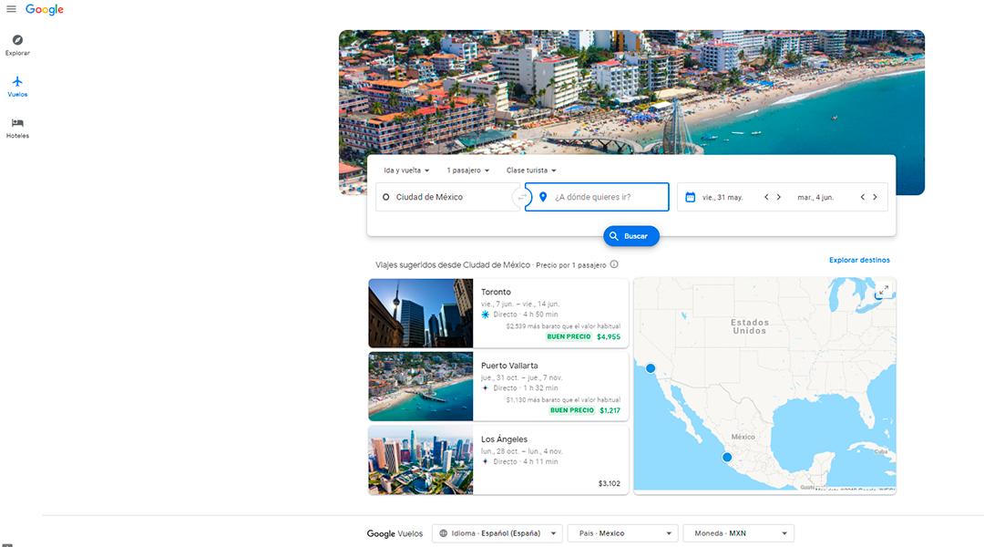 Google Travels
