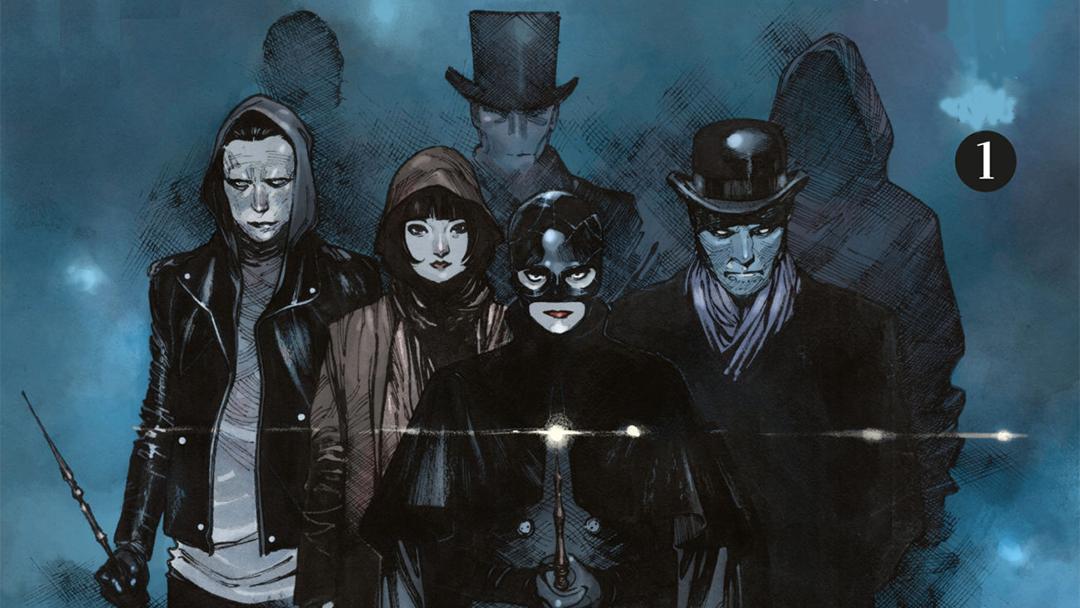 Imagen promocional de The Magic Order de Netflix