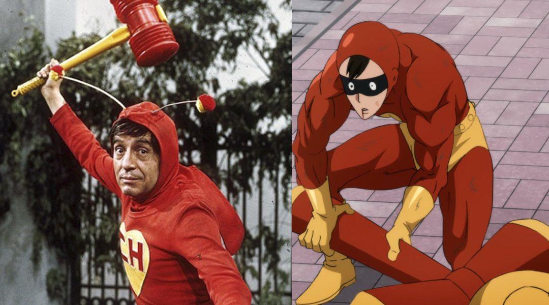 One Punch Man, Chapulín Colorado, Smile Man, Anime