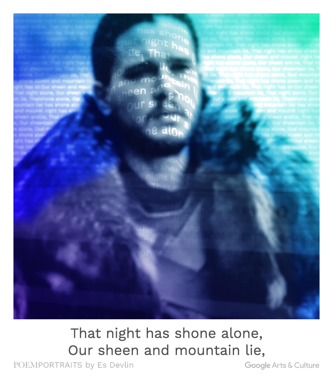 Jon Snow-Potrait Poem