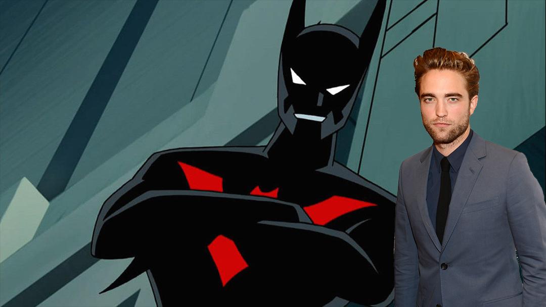 Robert Pattinson, Michael Keaton, Batman, Beyond