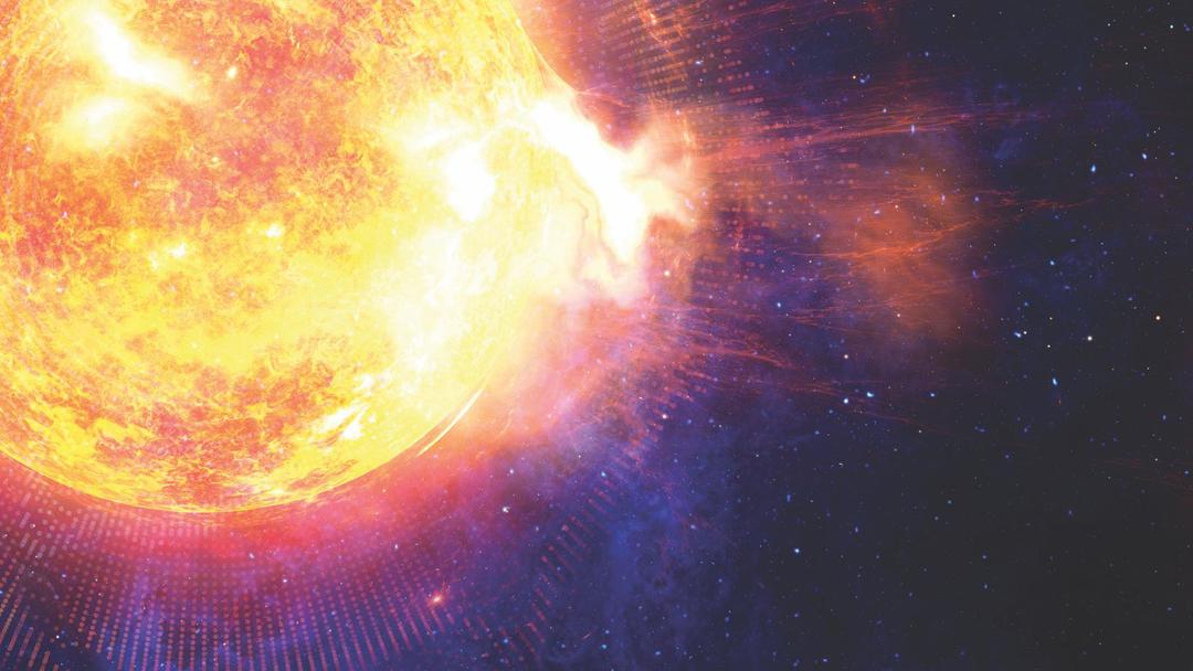 Tormenta, Solar, Tierra, Hoy