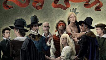 Portada de Marvel 1602 cómic de Neil Gaiman