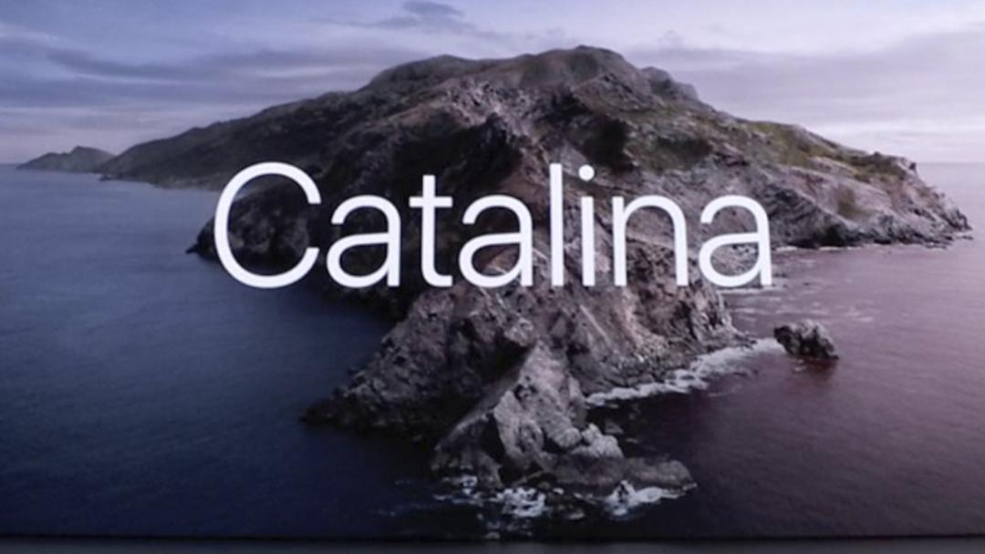 Catalina, MacOS, iTunes, WWDC