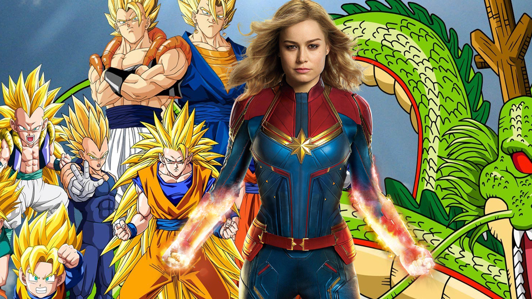 Dragon Ball, Captain Marvel, MCU, Goku