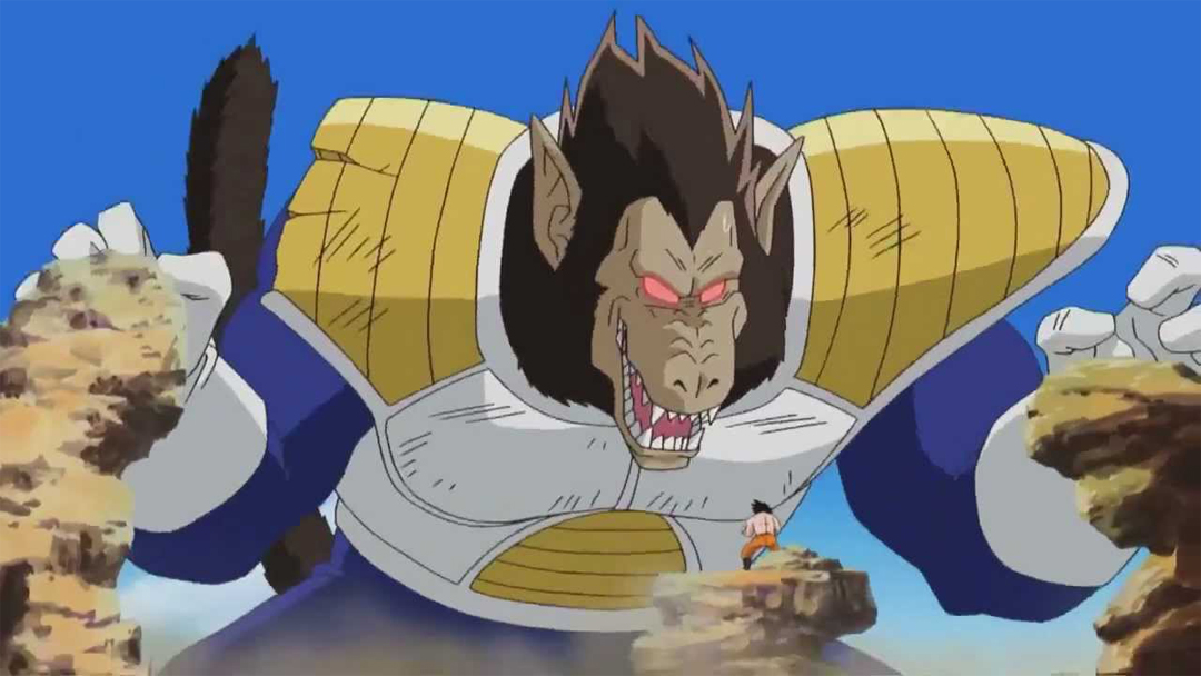 Godzilla, King Kong, Dragon Ball, Saiyajin