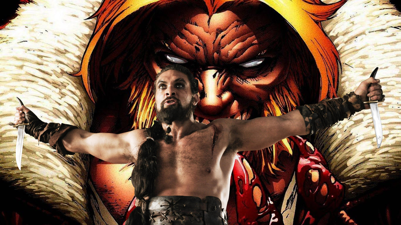 Jason Momoa, Wolverine, Sabretooth, Fan Art