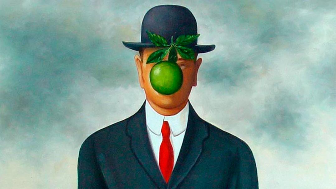 El hijo del hombre/René Magritte