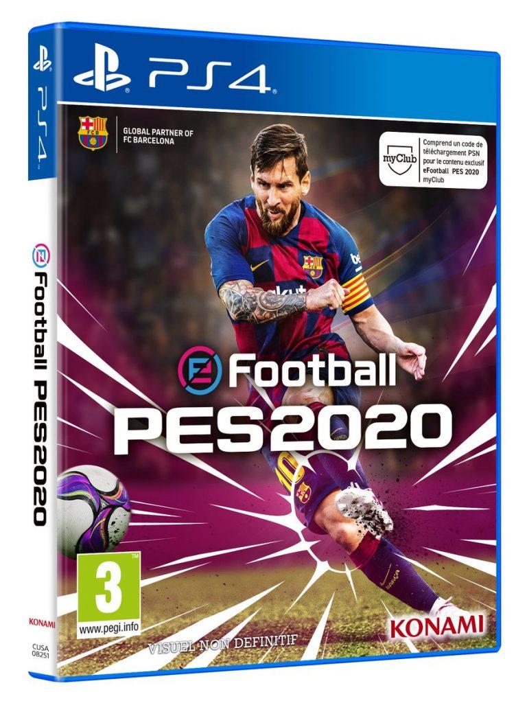 PES 2020, Leo Messi, Konami, eFootball