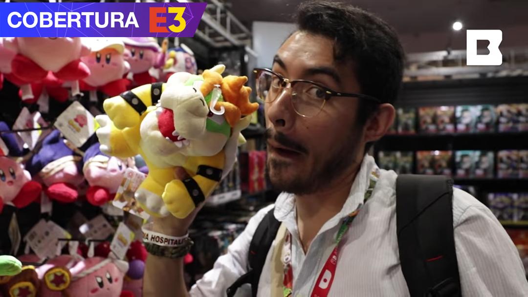 Guillermo todd en la cobertura del E3 2019