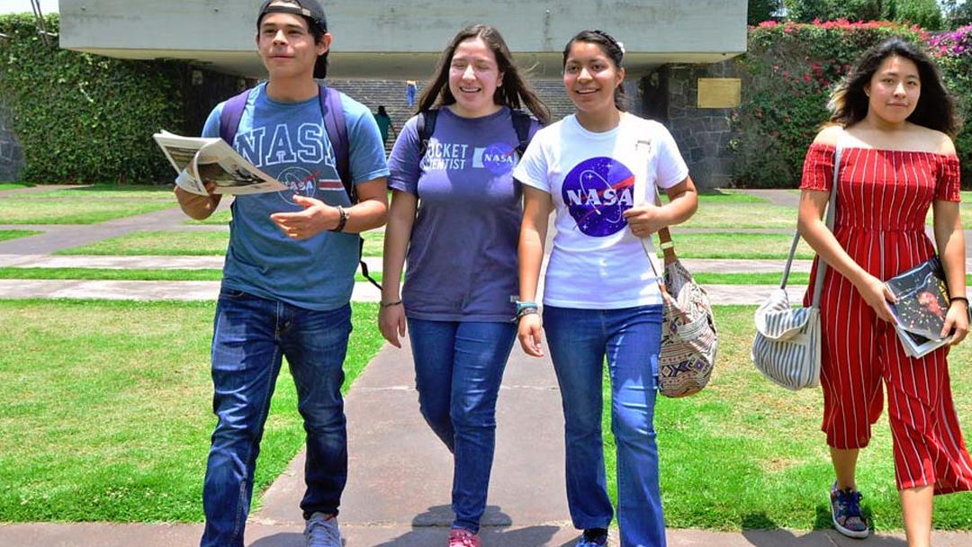 UNAM, NASA, Prepa 9, México