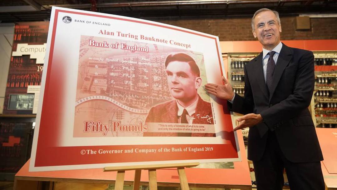 Alan Turing aparecerá en los nuevos billetes de 50 libras