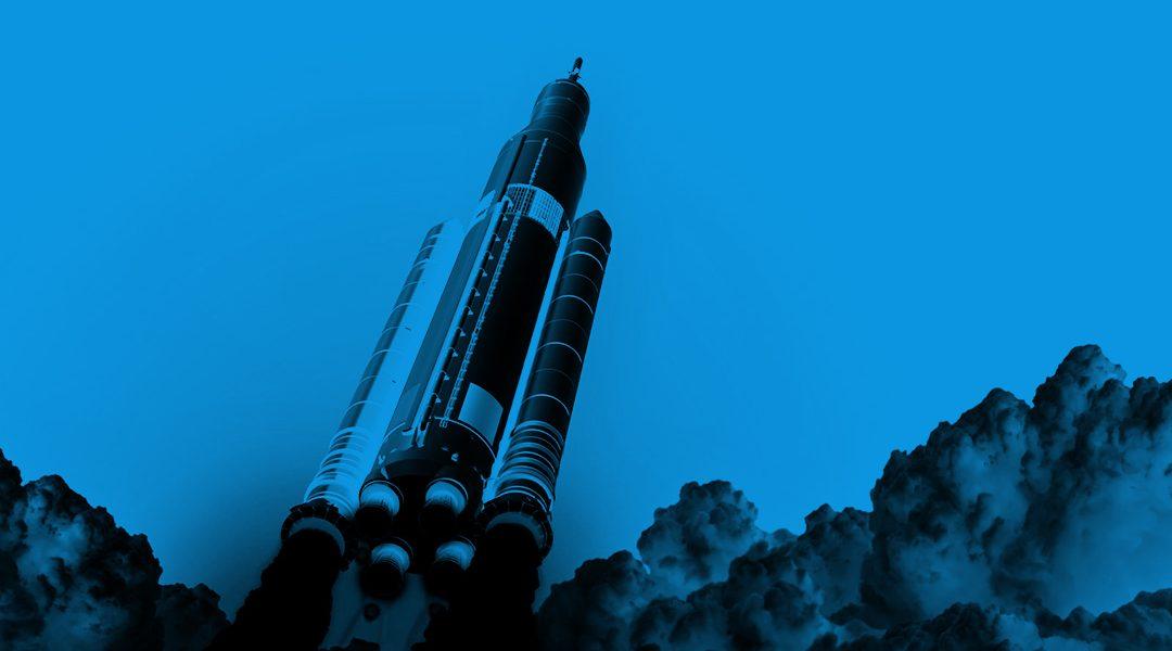 Cohete Espacial NASA