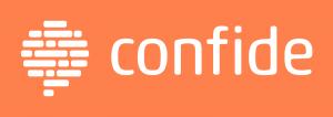 Logo de Confide la aplicación