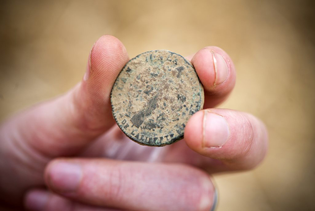 Moneda Batalla Waterloo