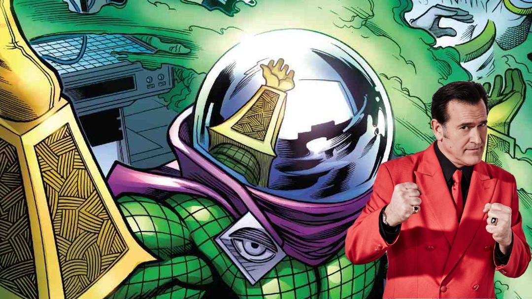Bruce Campbell revela si pudo ser Mysterio en Spider Man 4
