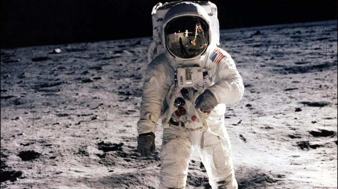 Neil Amstrong en la Luna Apollo 11
