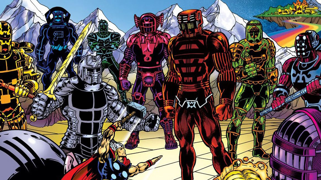 22/07/19 The Eternals, Celestials, Fase 4, MCU