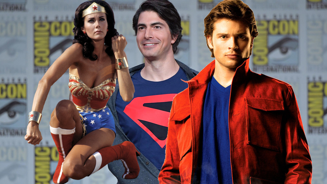 25/07/19 Tom Welling, Brandon Routh, Lynda Carter, Arrowverse 1