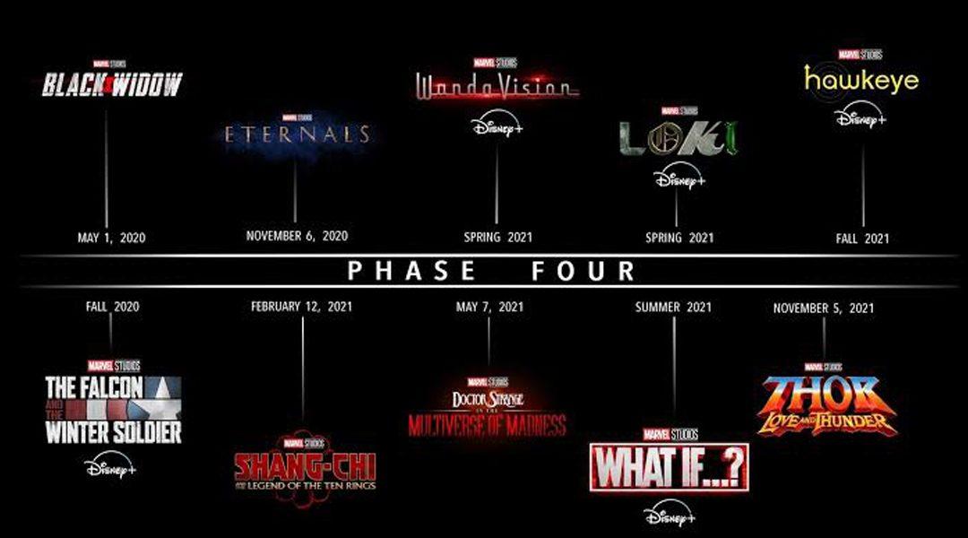 Tenemos el tráiler de la Fase 4 del MCU de Marvel D23