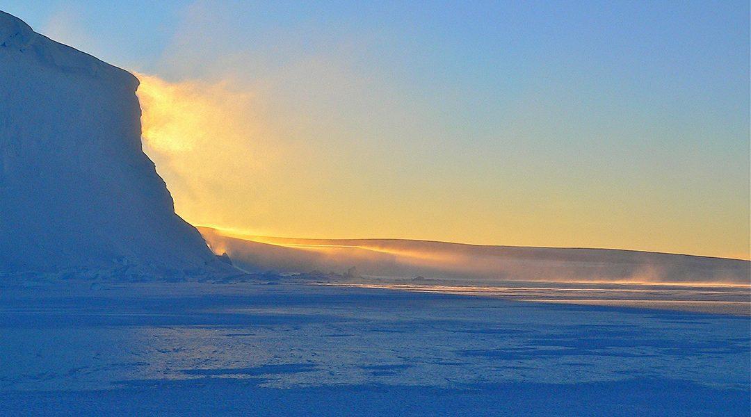 Polvo Supernova Antártida
