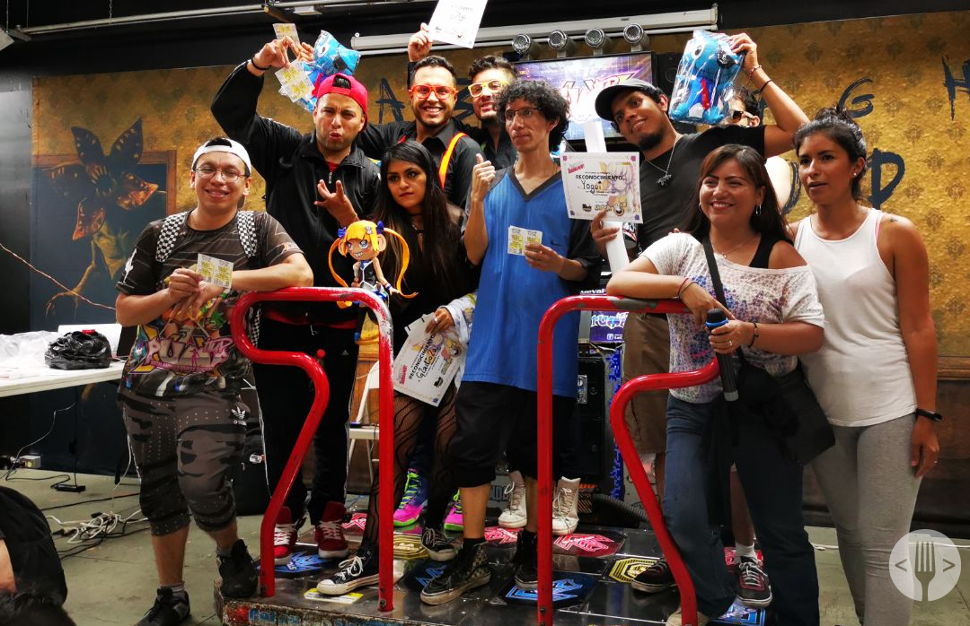 concursantes del torneo de Pump it up