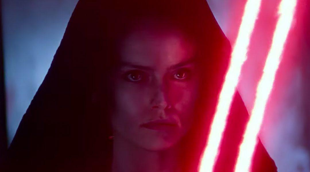 Star Wars Rise of Skywalker Rey Dark Side
