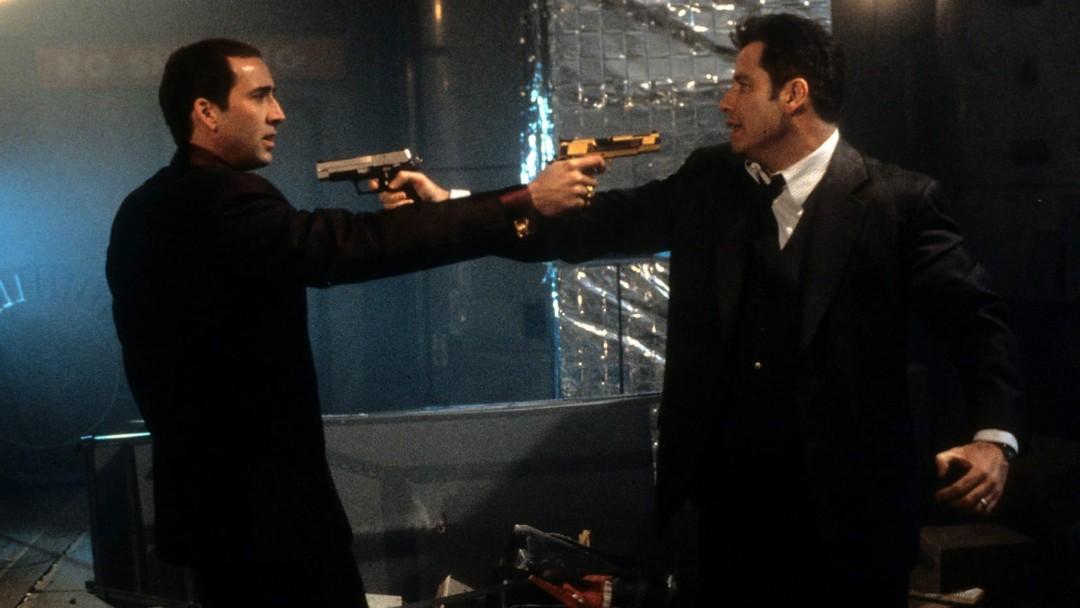 Nicolas Cage y John Travolta en Face/Off