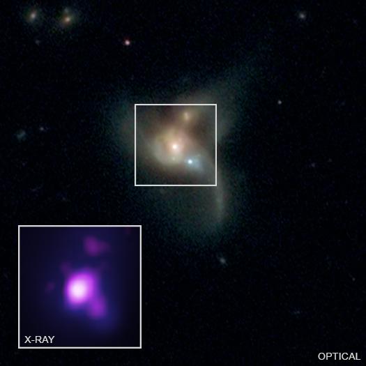 30/09/19, Agujero Negro, Supermasivo, NASA, Colisión
