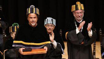 Alejandro González Iñarritu recibe Doctor Honoris Causa UNAM