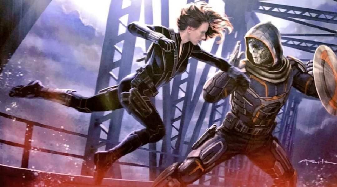 Cameo Iron Man en Black Widow