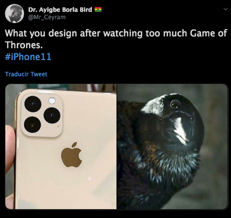 10/09/19, Game Of Thrones, iPhone 11, Tres Cámaras, Apple