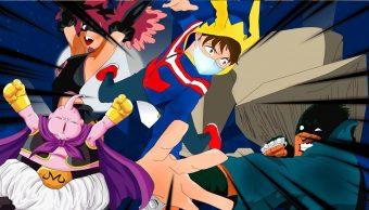 19/09/19, My Hero Academia, Dragon Ball, Vigilantes, Majin Buu