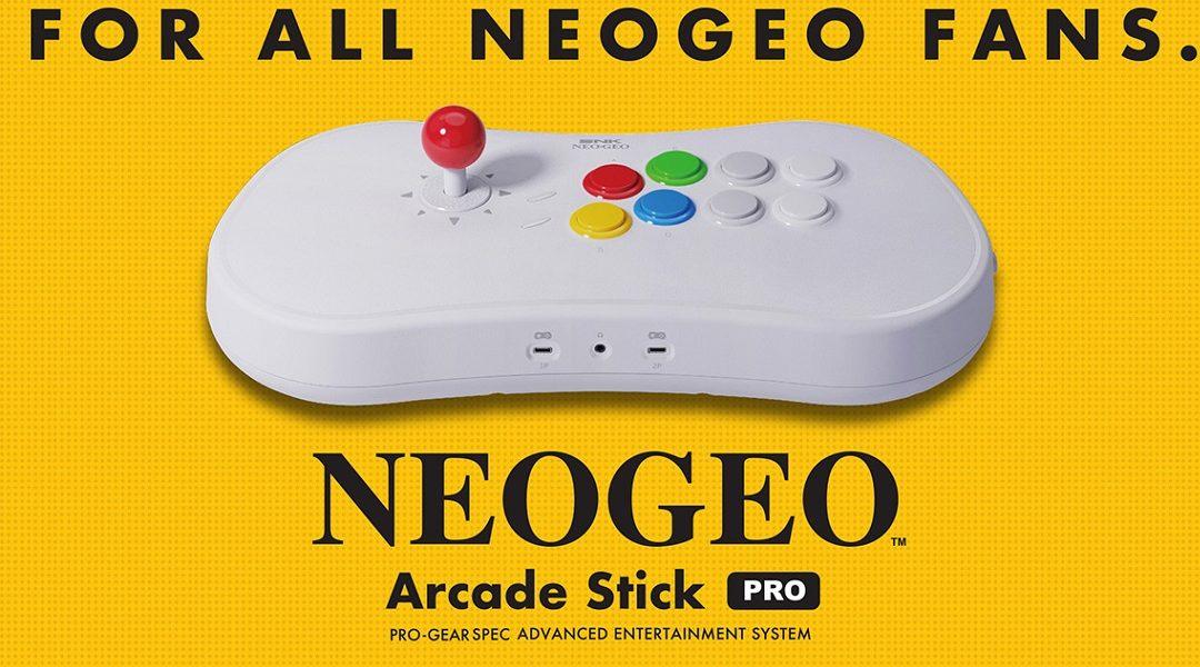 Nueva consola SNk Neo Geo Arcade