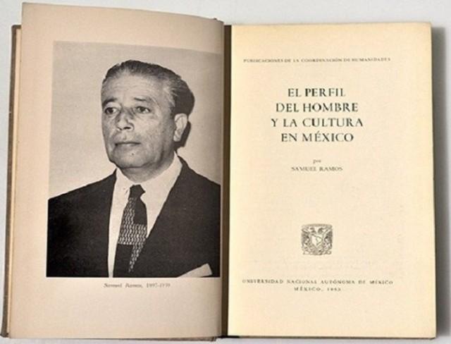 Samuel Ramos retrato portada de un libro
