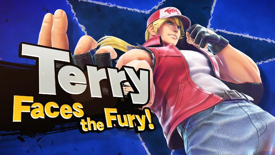 04/09/19 Terry Bogard, Super Smash Bros, SNK, Nintendo Switch