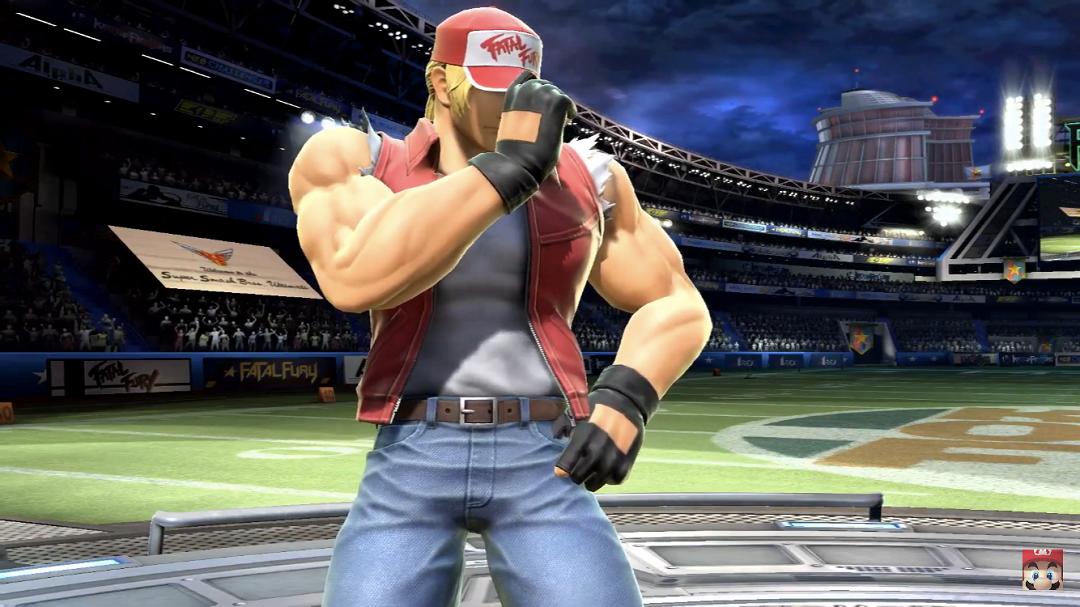 Terry Bogard en Super Smash Bros. Ultimate