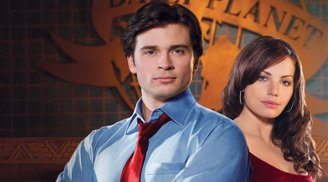 Tom Welling y Erica Durance