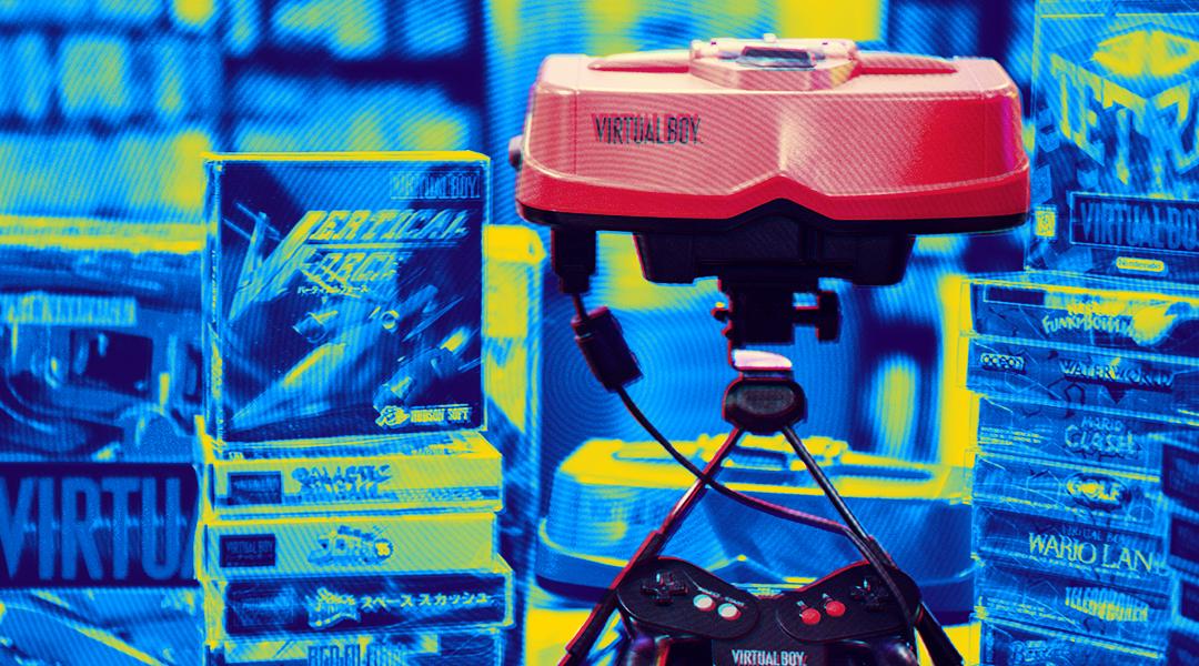 23/09/19, Nintendo, Virtua Boy, Periféricos, Accesorios