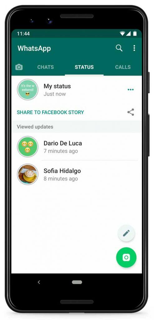 23/09/19, WhatsApp, Estado, Facebook, App