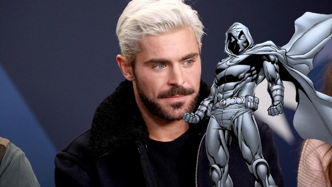Zac Efron Moon Knight Marvel