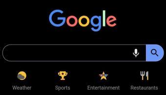 Cómo usar modo oscuro en google chrome