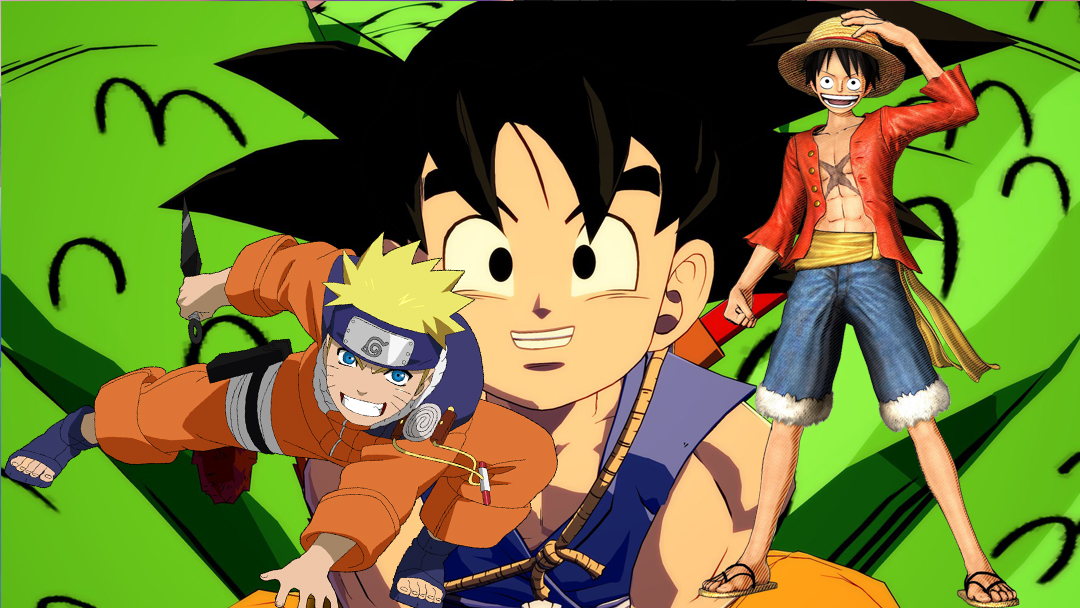 07/10/19, Dragon Ball, One Piece, Naruto, Homenaje