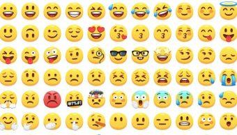 emojis más utilziados