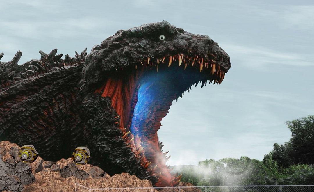 Parque de atracciones en Japón Godzilla