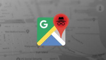 Cómo activar modo incógnito en Google Maps