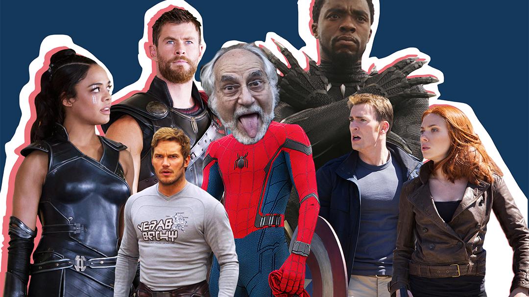 Héroes de Marvel con Arturo Ripstein